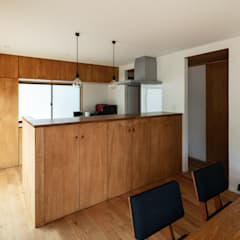 ミネラル: SQOOL一級建築士事務所が手掛けたキッチンです。,