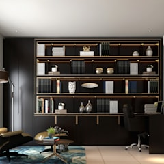 Arcoris Mont Kiara:  Study/office by Norm designhaus