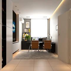 Arcoris Mont Kiara:  Study/office by Norm designhaus, Scandinavian