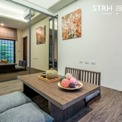 Study/office by 司創仁和匯鉅設計有限公司