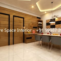 Interiors:  Dining room by Future Space Interior