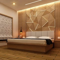 Interiors:  Bedroom by Future Space Interior