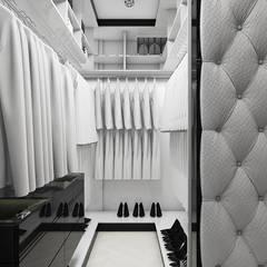 THE ONLY GAME IN TOWN | II | Wnętrza domu: styl , w kategorii Garderoba zaprojektowany przez ARTDESIGN architektura wnętrz