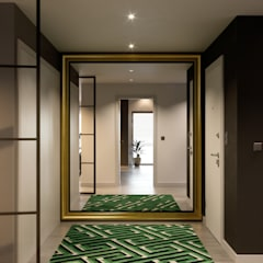 Corridor and hallway by Inêz Fino Interiors, LDA