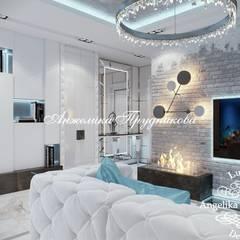 Dressing room by Дизайн-студия элитных интерьеров Анжелики Прудниковой