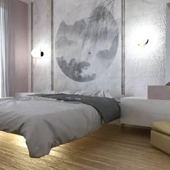 غرفة نوم تنفيذ SAMANTHA PASTRELLO INTERIOR DESIGN , تبسيطي