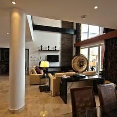 Hotel Villa del Palmar: Salas de estilo topical por Facere Arquitectura