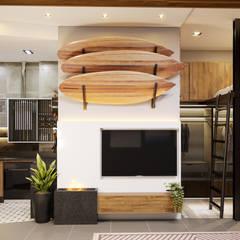 Cocinas equipadas de estilo  por Rau Duarte Arquitetura