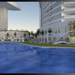 Merit Cyprus Garden:  Hotels by Gurooji Design