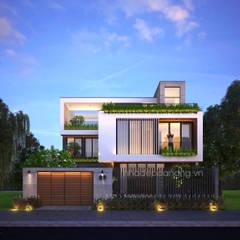 Thiết kế biệt thự hiện đại 3 tầng:  Nhà by AVA Architecture