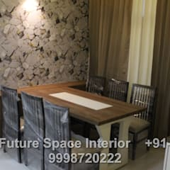 tropical Dining room by Future Space Interior