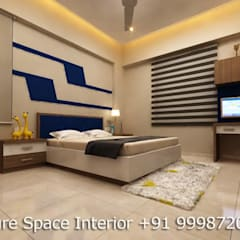 Residential Interiors:  Bedroom by Future Space Interior