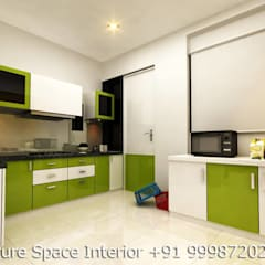 Residential Interiors:  Kitchen by Future Space Interior
