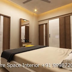 Residential Interiors: country Bedroom by Future Space Interior