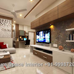 Residential Interiors:  Living room by Future Space Interior