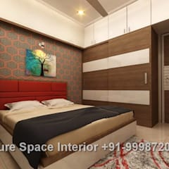 Dormitorios de estilo  por Future Space Interior