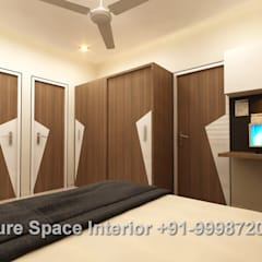 Residential Interiors: rustic Bedroom by Future Space Interior