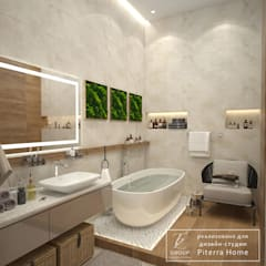 tropical Bathroom by Design studio TZinterior group