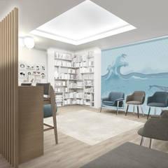 Zona attesa: Cliniche in stile  di Silvana Barbato, StudioAtelier