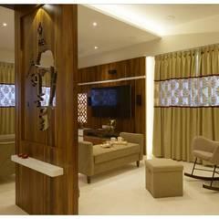 Bungalow: classic Living room by Metamorfic Interior
