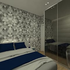 Dormitorios juveniles  de estilo  por GABRIELA GUERREIRO | ARQUITETURA