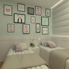 ห้องนอนเด็กหญิง by GABRIELA GUERREIRO | ARQUITETURA