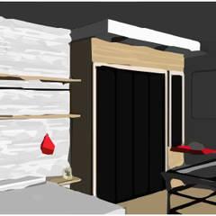 LOFT INDUSTRIAL: Dormitorios de estilo  por Granada Design