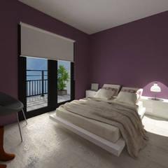 DEPARTAMENTO MODELO: Dormitorios de estilo  por Granada Design