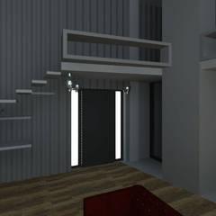 LOFT: Pasillos y recibidores de estilo  por Granada Design,Industrial