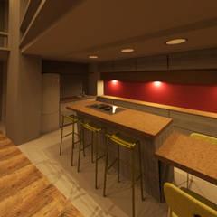 LOFT: Cocinas de estilo  por Granada Design