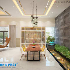 Dining room by Công ty Thiết Kế Xây Dựng Song Phát