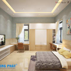 Bedroom by Công ty Thiết Kế Xây Dựng Song Phát