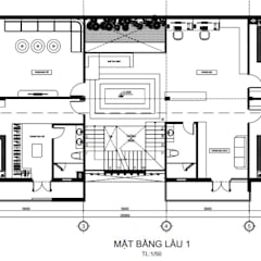Multi-Family house by Công ty thiết kế xây dựng Song Phát