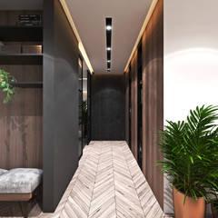 Apartament w Londynie - strefa dzienna: styl , w kategorii Korytarz, przedpokój zaprojektowany przez Ambience. Interior Design