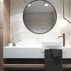Apartament w Londynie - strefa dzienna: styl , w kategorii Łazienka zaprojektowany przez Ambience. Interior Design