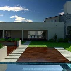 Vivienda Jardines clásicos de VI Arquitectura & Dis. Interior Clásico