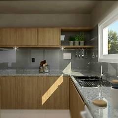 Cocina moderna: Cocinas de estilo moderno por VI Arquitectura & Dis. Interior