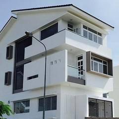 kiến trúc Biệt thự hiện đại đẹp:  Biệt thự by CÔNG TY THIẾT KẾ NHÀ ĐẸP SANG TRỌNG