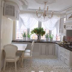 Интерьер кухни в классическом стиле: Кухни в . Автор – студия Design3F