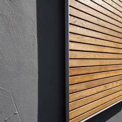 Detail Materialauswahl: skandinavische Häuser von Fiedler + Partner