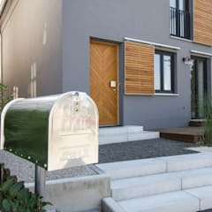 Eingangsbereich:  Häuser von Fiedler + Partner