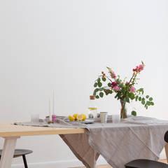 Minimal Living: minimalistische Esszimmer von Kathy Kunz Interiors