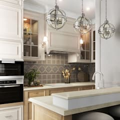 Дизайн-проект квартиры в пос. Успенское: Кухни в . Автор – Style Home
