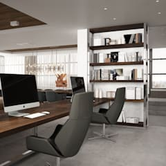 Дизайн-проект студии для Вадима Галыгина: Медиа комнаты в . Автор – Style Home
