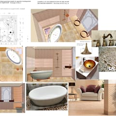 Example documentation in one room_bathroom parents_2015: Casas de banho  por D O M | Architecture interior