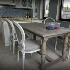 cozinha: Cozinhas embutidas  por D O M   Architecture interior