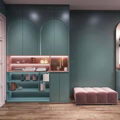 Đẹp Khác Biệt với Thiết kế căn hộ Landmark 81 của ICON INTERIOR:  Cửa ra vào by ICON INTERIOR, Hiện đại