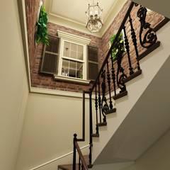 Escaleras de estilo  por Style Home