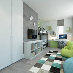 Nursery/kid's room by Style Home