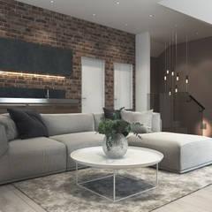 minimalistische Mediakamer door Style Home